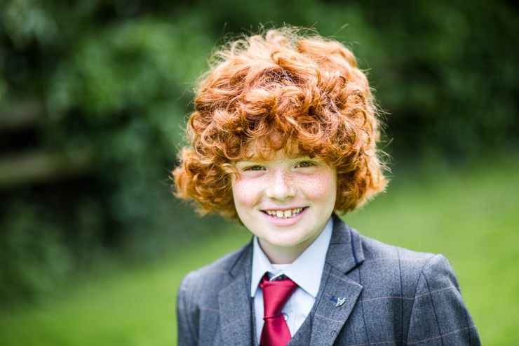 Boy on his First Holy Communion